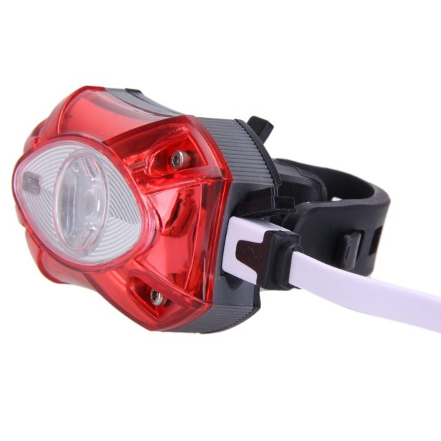 Useful Rechargeable Waterproof Plastic Bicycle Tail Light