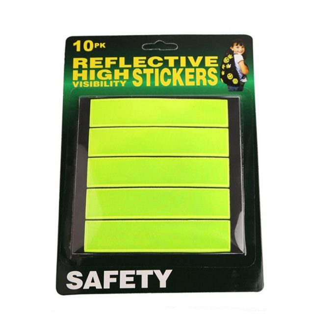 Bright Fluorescent Safety Cycling Reflective Stickers