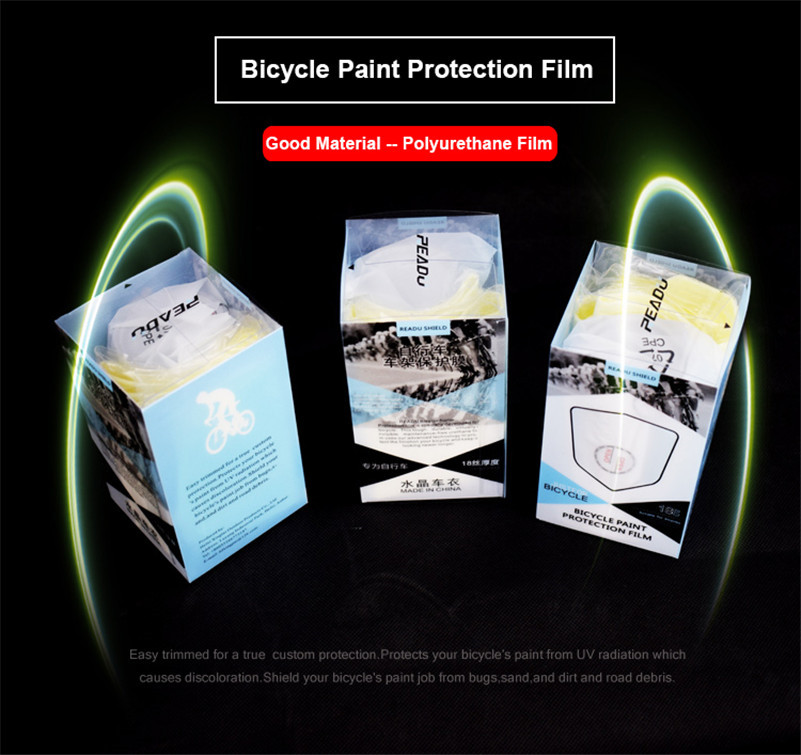 Waterproof Transparent Cycling Frame Stickers