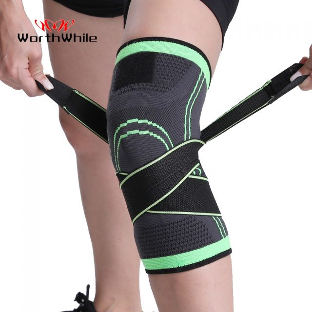 Sports Kneepad Men Pressurized Elastic